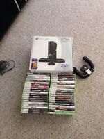 *like new Xbox 360* with connect and 250gb hard drive