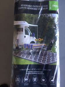 New Never Opened RV Reversible Outdoor Rug