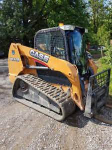2014  CASE TRACK SKID STEER LOW HOURS