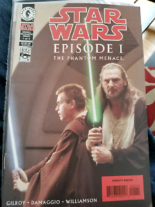 Dark Horse Comics Star Wars The Phantom Menace Comics