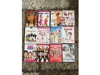 12 DVDs - chick flicks