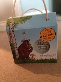 The Gruffalo Milk and Biscuit Set
