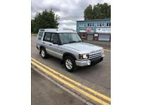 "LAND ROVER DISCOVERY 2.5TD5 MANUAL PURSUIT 5 SEATER 2004 ""04"" REG 155,000 MILES"