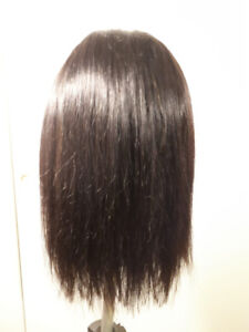 Wigs, 100% Indian remy human hair