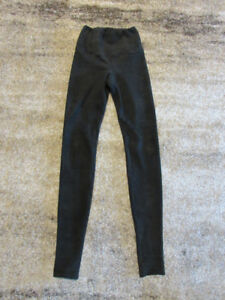 Wilfred Free Daria Faux Suede Leggings Pant XS