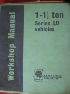 BMC 1-11/2 TON SERIES LD VEHICLES WORKSHOP SERVICE MANUAL c1967 Dianella Stirling Area Preview