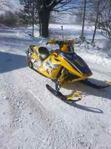 Must sell no time to ride fast sled  London Ontario image 1