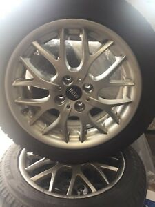 Mini Cooper rims and tires