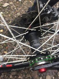 Dirt jump/Street bike minus brake and forks