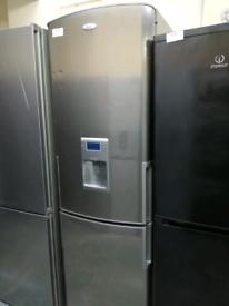 Whirlpool fridge freezer with water dispenser at Recyk Appliances