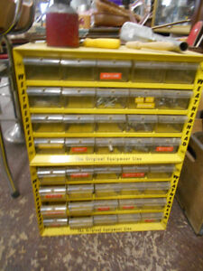 Vintage Weatherhead 40 Compartment Parts Drawers / Bin
