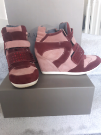 Alberto Guardiani wedged trainers -only £ 55