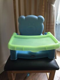 Chicco high chair booster seat
