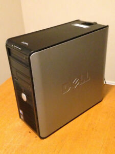Dell tower: 64-bit Windows 7 Professional and Microsoft Office