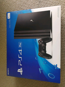 UNOPENED PS4 Pro  with warrantee BRAND NEW