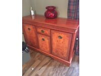 Lovely highly polished sideboard. Need collecting by the weekend £50 ono