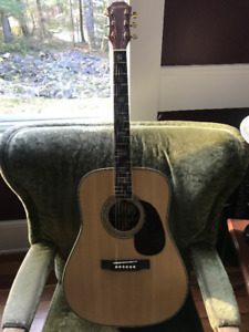 rosewood/solid spruce dreadnaught