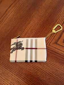 New Burberry Coin Purse Wallet