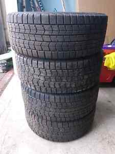 205/55R16 dunlop graspic ds-3 winter tires