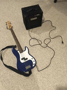 Electric Bass / Amp combo.
