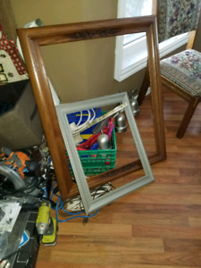 Picture frames $10 for both