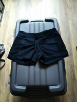 Black lululemon shorts size 4