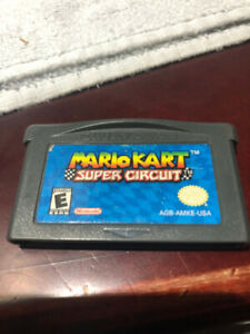Mario Kart Super Circuit Game Boy Advance