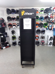 ROLLING DISPLAY RACK FOR SALE