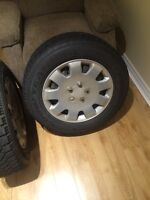 4 Goodyear Nordic with GM rims