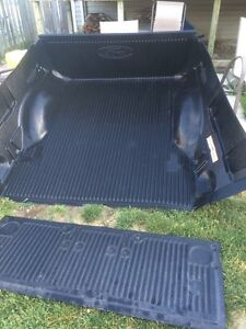 Bed liner and tail gate cover