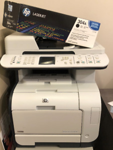 """Solid heavy use """"workhorse"""" colour laser printer"""