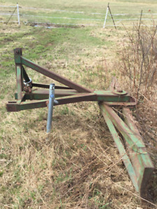 3 point hitch 9 ft blade