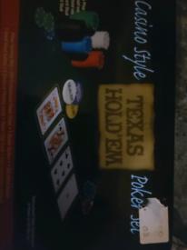Casino Style TEXAS HOLD EM Poker Set
