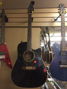 Fender la brea acoustic electric guitar