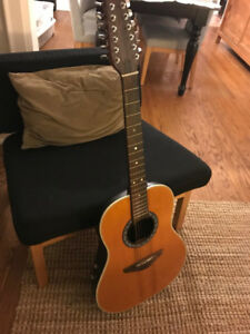 Ibanez Performance 12 string acoustic/electric guitar