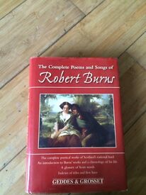 Robert Burns Complete Songs and Poems