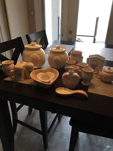 Jacquelyne's Handcrafted Earthern Ware Pottery Kitchen Ware Set Strathcona County Edmonton Area image 1