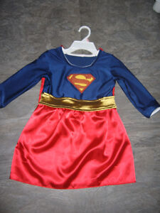 Girls Super Girl Costume