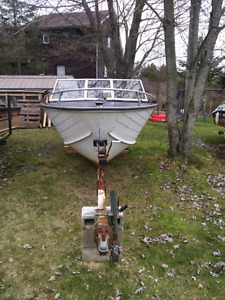 Springbok Aluminum Fishing boat