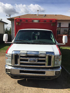 2008 E-450- Retired Ambulance/Converted