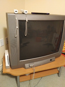 """32"""" Toshiba tv and stand"""
