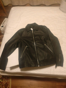 Brand new leather jacket (never worn)