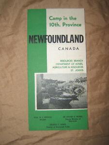 1966 Newfoundland Parks Brochure