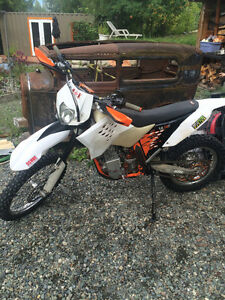 2008 565 Ktm dirt bike motorcycle