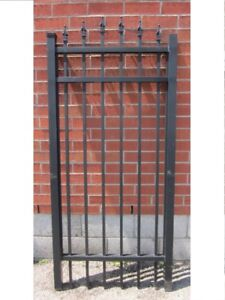 "ALUMINUM GATE 32"" wide, 6 ft high – Surplus Inventory–SAVE 60%"