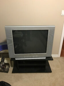 "36"" Sony Trinatron TV with stand"