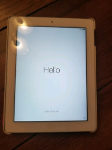iPad 2 32GB with protective case