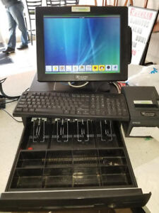 POS system- Computer, Keyboard, 2 printers, and cash Register!!!