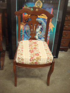 Vintage Carved Side Chair