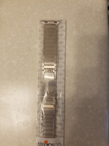 Apple Watch Stainless Steel Watch Band Silver New
